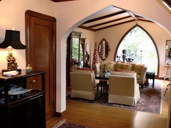 for Designs of arches in living room