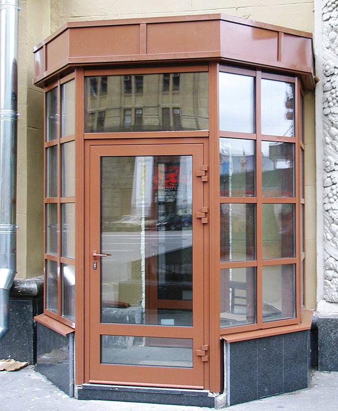 алюминиевые дверей