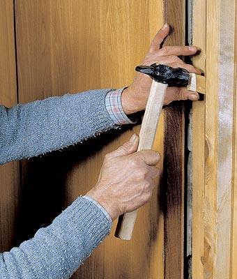 Методы укрепления дверных коробок