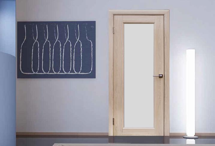 Пвх двери светлых тонов