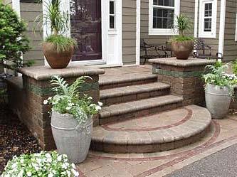 бетонная плитка для облицовки крільца