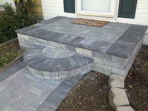 бетонная плитка для отделки крыльца