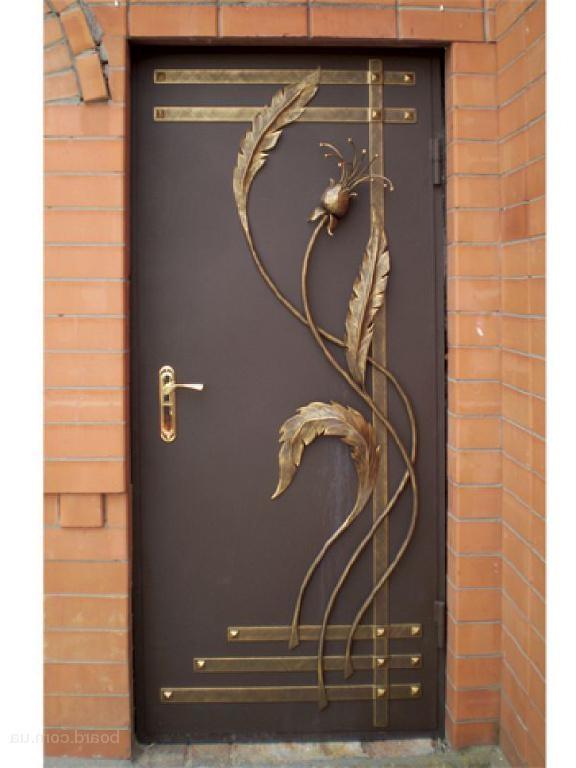 дверь входная металлическая художественная ковка