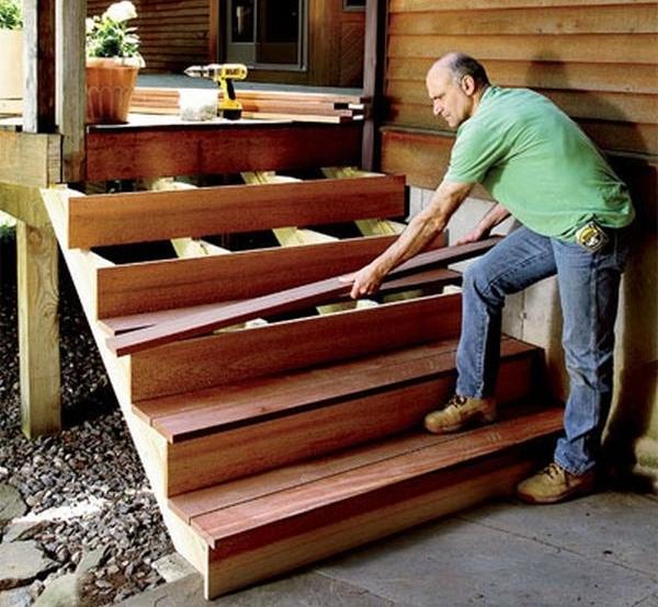 деревянное крыльцо построить самостоятельно