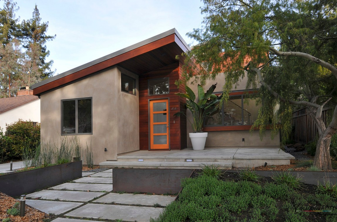 крыльцо загородного дома