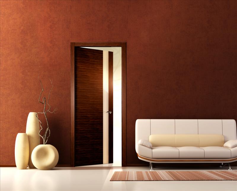 стандартная металлическая дверь
