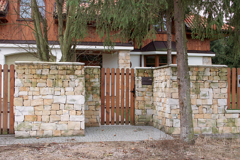 оформление ворот и калитки