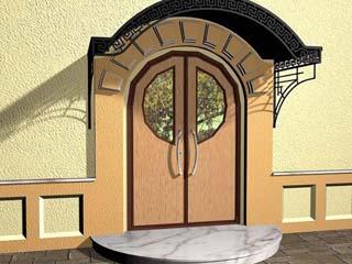 нестандартные стальные двери фото
