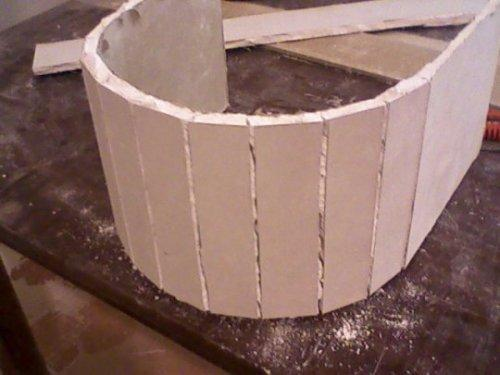 придание  изгобов арки