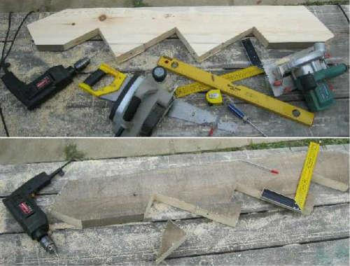 тетива для деревянного крыльца фото