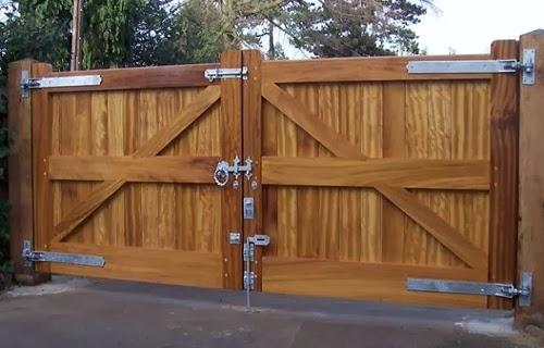 цена деревянных ворот