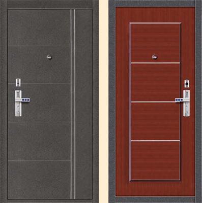 клинские стальные двери в интерьере
